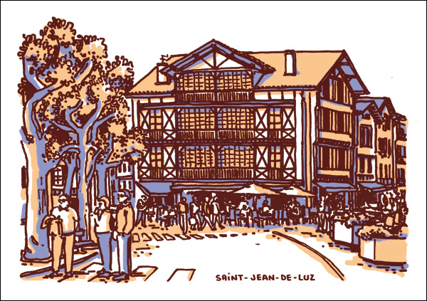place-louis-XIV-saint-jean-luz