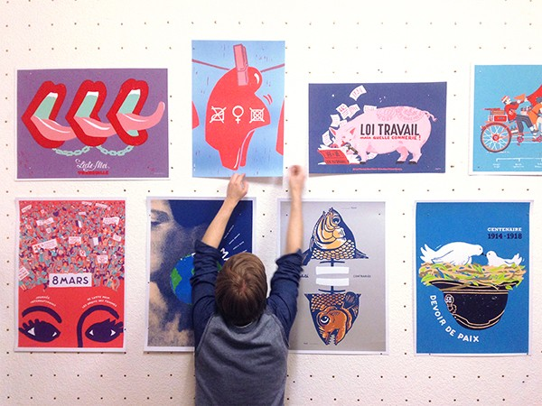 vernissage-exposition-dugudus-gallery-serigraffeur-berlin-posters